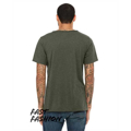 Picture of Fast Fashion Unisex Triblend Raw Neck T-Shirt