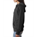Picture of Ladies' Glitter French Terry Contrast Full-Zip Hood