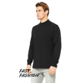 Picture of Fast Fashion Unisex Mock Neck Long Sleeve T-Shirt