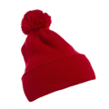 Picture of Cuffed Knit Beanie with Pom Pom Hat