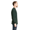 Picture of Unisex Sueded Long-Sleeve Crew