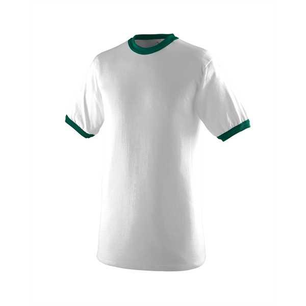 WHITE/ DRK GREEN