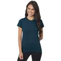 Picture of Ladies' 4.2 oz., 100% Ring-Spun Cotton Jersey T-Shirt