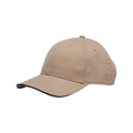 Picture of 100% Brushed Cotton Twill Structured Sandwich Cap