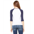 Picture of Ladies' Baby Rib 3/4-Sleeve Contrast Raglan T-Shirt