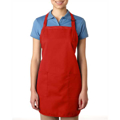 Picture of 65% polyester / 35% cotton Deluxe Full-Length Bib Apron