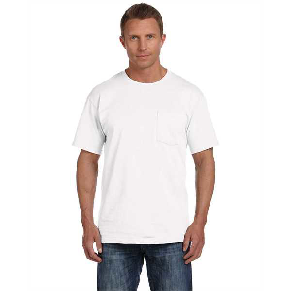 Picture of Adult 5 oz. HD Cotton™ Pocket T-Shirt