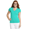 Picture of Ladies' Junior Fit V-Neck T-Shirt
