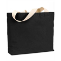 Picture of 12 oz., Cotton Canvas Jumbo Tote