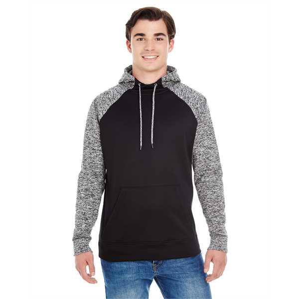 Picture of Adult Colorblock Cosmic Pullover Hood
