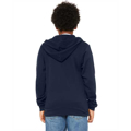 Picture of Youth Sponge Fleece Full-Zip Hooded Sweatshirt