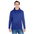 Picture of Adult Odyssey Striped Poly Fleece Pullover Hood