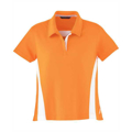 Picture of Ladies' Polyester Pique Polo with Stripe