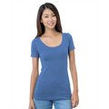 Picture of Junior's 4.2 oz., Fine Jersey Wide Scoop Neck T-Shirt