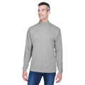 Picture of Adult Sueded Cotton Jersey Mock Turtleneck