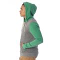 Picture of Unisex Rocky Eco-Fleece Colorblocked Hoodie