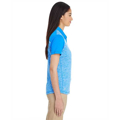 Picture of Ladies' Heather Block Polo