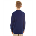 Picture of Youth 5.6 oz. SpotShield™ Long-Sleeve Jersey Polo