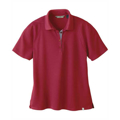Picture of LADIES' RECYCLED POLYESTER PERFORMANCE WAFFLE POLO