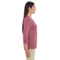 Picture of Ladies' Central Cotton Blend Mélange Knit Top